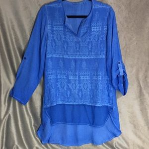Soft surrounding high low tunic Medium